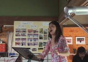 ソロ熱唱・北野里沙さん